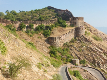 Randonnée à Kumbhalgarh