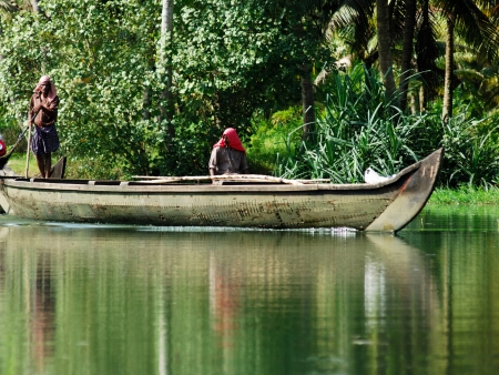 Croisière sur les Backwaters d'Allepey