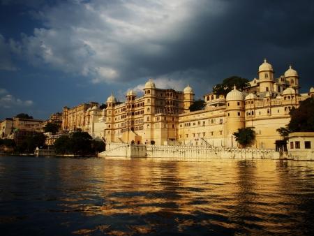 Udaipur, au bord de l'eau