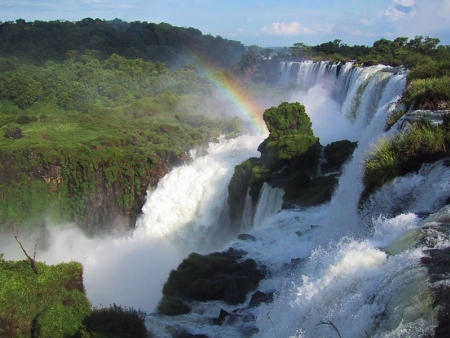 Les chutes, coté argentin