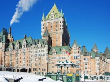 Départ en train pour Québec