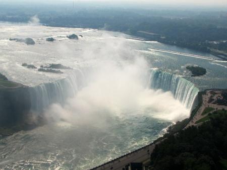 Les mythiques chutes du Niagara