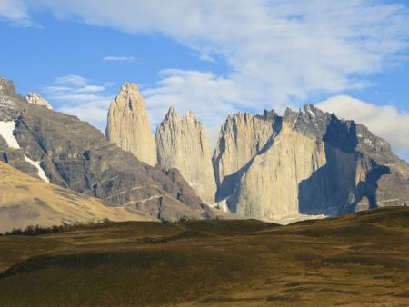 A l'horizon : la Patagonie !