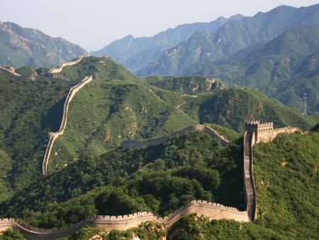 Promenade en famille sur la Grande Muraille