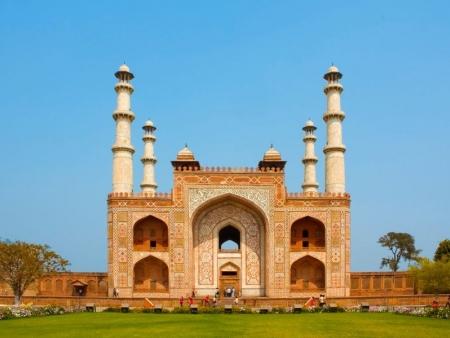 De Agra à Delhi