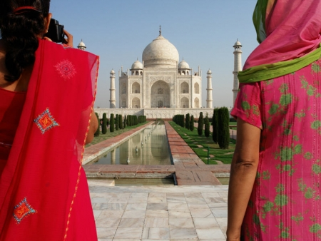 Resplendissant Taj Mahal
