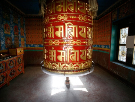 Une excursion vers les ruines de la forteresse de Drugyal Dzong