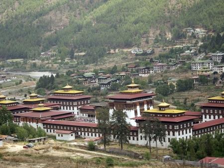 Route pour Thimphu