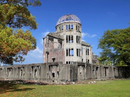 Château du Héron Blanc, jardin Koko-en, monuments d'Hiroshima et Miyajima