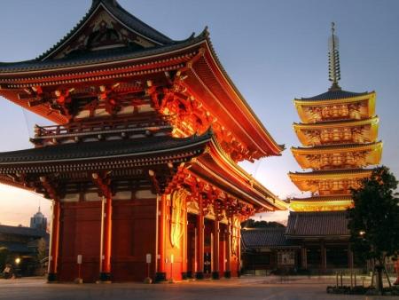 Visite du temple Senso-ji et du quartier d'Asakusa