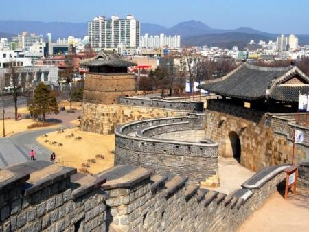 La forteresse de Suwon