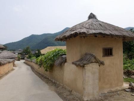 Au cœur d'un village traditionnel coréen