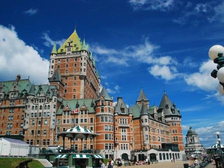 Bonjour capitale du Québec !