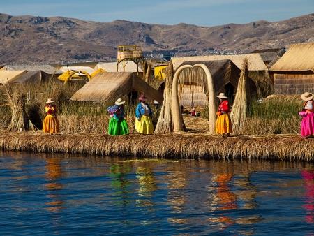 Croisière sur le lac Titicaca et nuit chez l'habitant