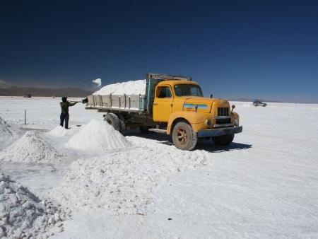 En Route pour la Salar d'Uyuni