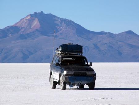 Magnifique désert de sel !