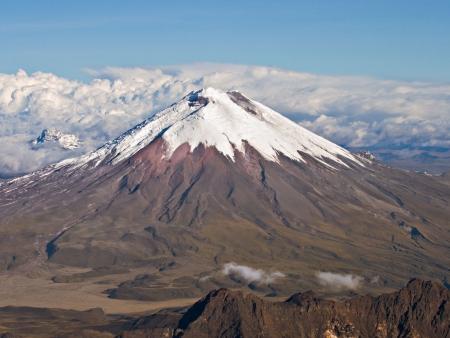 L'Allée des Volcans et le Cotopaxi