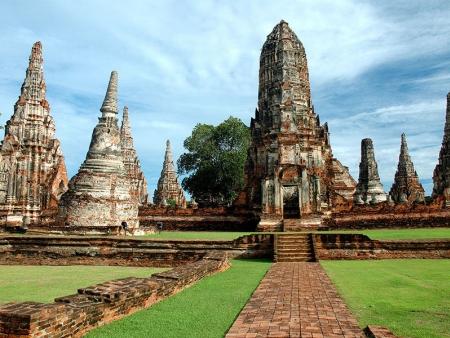 Ayutthaya, ancienne capitale
