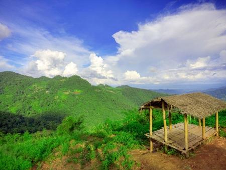 A travers la campagne thaïlandaise