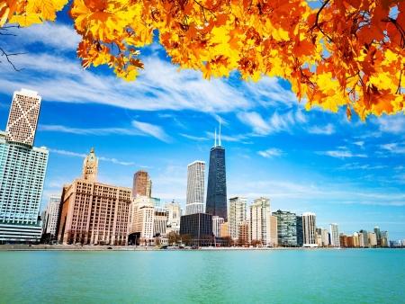 Balade sur les rives du Lac Michigan et envol pour Paris !