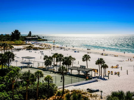 Côte sauvage de la Floride