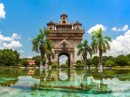 La capitale paisible de Vientiane