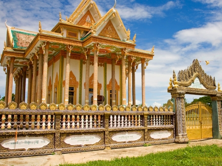 Battambang, la coloniale