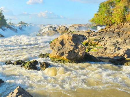 Les chutes de Khone Phapeng