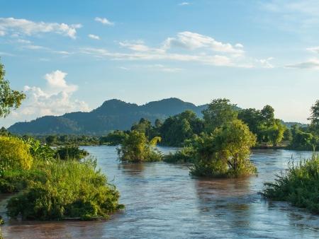 4000 îles posées sur le Mékong