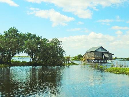 En route vers Siem Reap