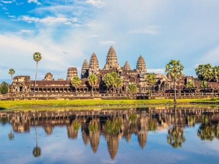 Le Tonle Sap et Angkor Wat
