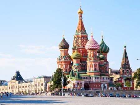 Découverte de Moscou