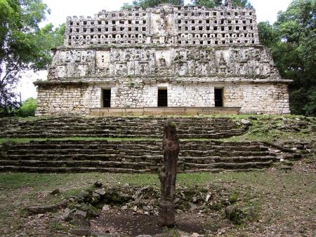 Les ruines cachées de la forêt Lacandone…