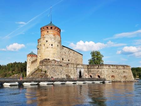 Le château d'Olavinlinna