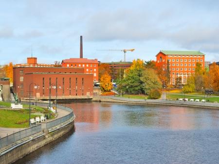 Tampere, au fil de l'eau...