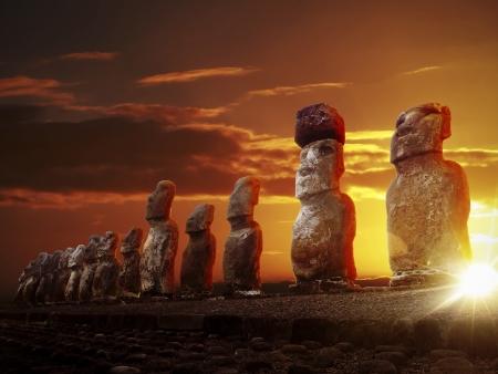Premiers pas sur la mystérieuse et non élucidée Ile de Pâques