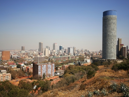 Départ pour l'Afrique du Sud