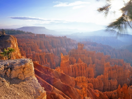 Route vers Bryce Canyon