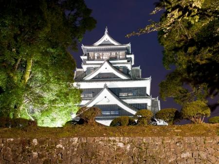 Jigoku, Feudal castle and Suizen-ji landscape garden