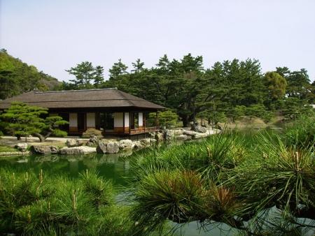 Ritsurin Park and Tamano garden