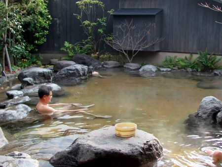National Park and Sunayu natural hot baths
