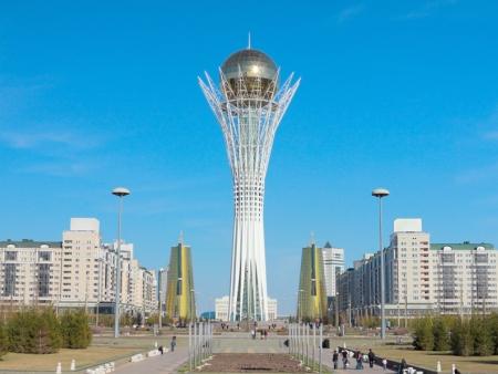 Arrivée au Kazakhstan