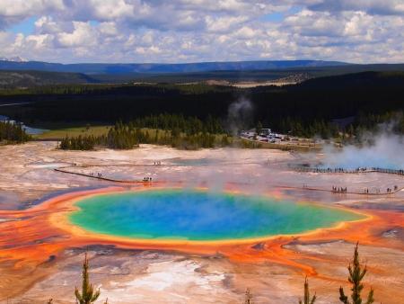 Parc de Yellowstone et ses geysers