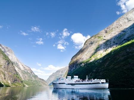 Croisière sur le plus long fjord d'Europe : le Sognefjord