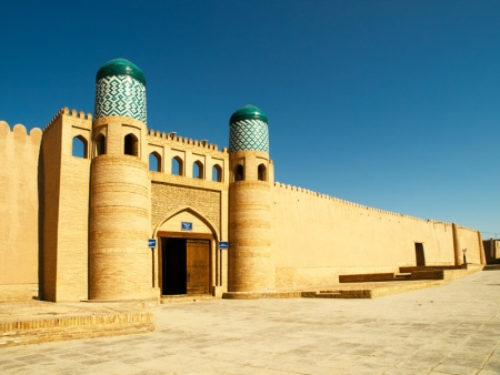 L'ancienne forteresse d'Akhsikent