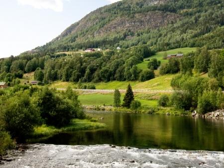 Le plateau de Hardangervidda en direction d'Oslo !