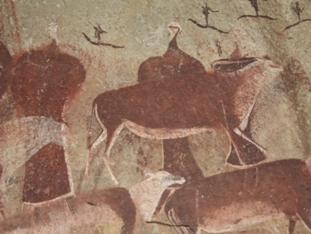 Drakensberg et peintures rupestres du peuple San