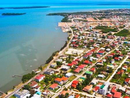 Vol en direction de Belize puis Ambergris