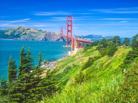Vers la fameuse baie de San Francisco