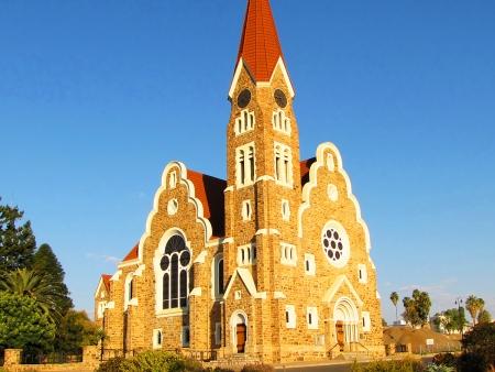 Contrastes de la capitale namibienne